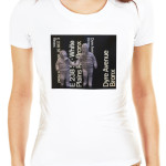 Dyre avenue t-shirt by artist JILLY BALLISTIC for Riotandco, special 2create collection