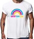 Gayer than ever t-shirt by Riotandco, gay pride t-shirt