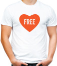 Free love t-shirt by Riotandco
