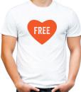 Free love t-shirt by Riotandco