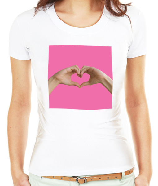 Spread the love t-shirt by Riotandco, gay pride t-shirt
