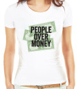 People over money t-shirt by Riotandco, social justice t-shirt