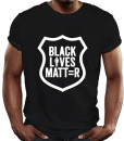 black lives matter t-shirt by Riotandco