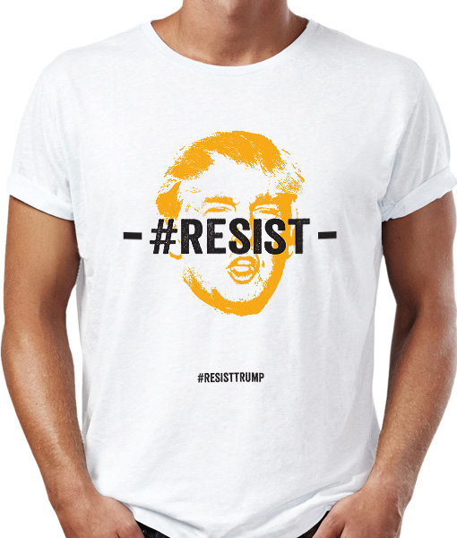 resist trump t-shirt by Riotandco the #resist project
