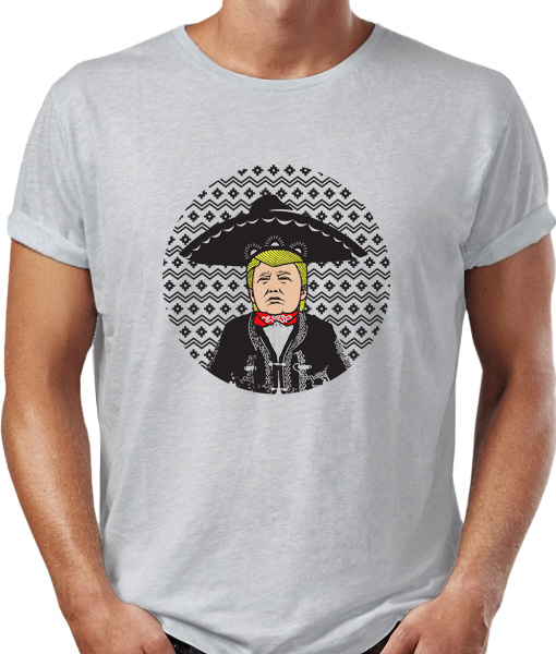 el presidente, president trump t-shirt by Riotandco