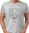 sad panda t-shirt by Riotandco